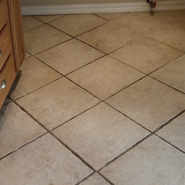 Before-Expert Grout Cleaning