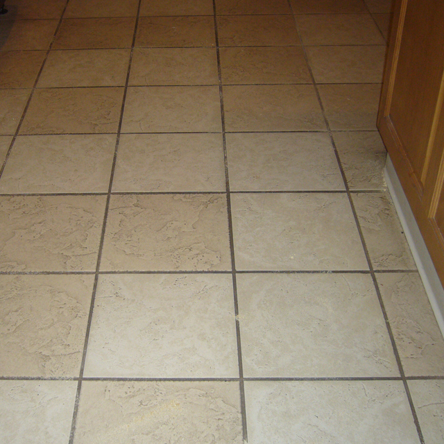 Before-We Clean Tile Too!